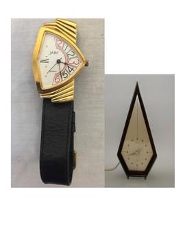 Art Deco Clocks, brief info, teach telling time!