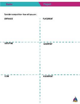 Art & Design Composition Planning