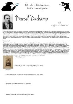 Art Detective, Marcel Duchamp, Dada