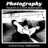DIGITAL PHOTOGRAPHY STEM- comprehensive lesson plan BEST SELLER