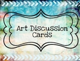 Art Discussion Cards