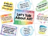 Art Discussion Signs for Bulletin Board and Critiques