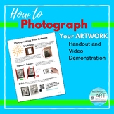 Art: Distance Learning- How to Photograph Your Artwork