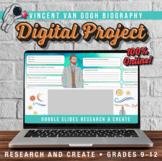 Art Distance Learning -Van Gogh Digital Biography -Researc