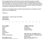 Art Donation Letter