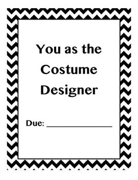 Art - Drama Costume Designing Assignment Package