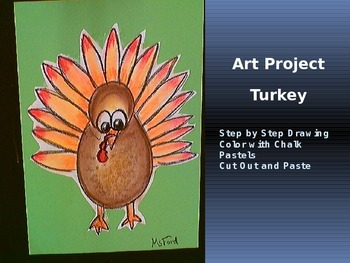 Art Drawing A Turkey Powerpoint Step by Step