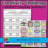 Creativity Challenges Art Lessons