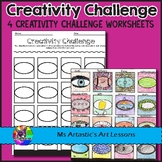 Creativity Challenges Art Lessons