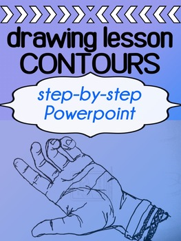 Art - Drawing Lesson - Contour Drawings
