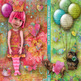Art Dreams Printable Digital Paper, Embellishments and Alphas