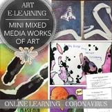 Art Distance Learning Pack for Virtual Teaching, Coronavir