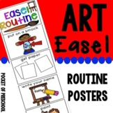 Art Easel Routine for Preschool, Pre-K, and Kindergarten