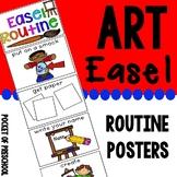Art Easel Routine for Preschool, Pre-K, and Kindergarten