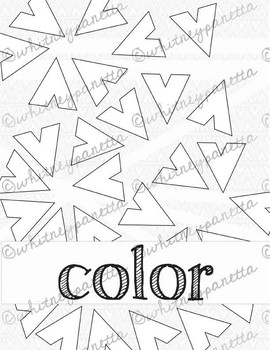 Elements of Art Coloring Posters: Student Decorated Bulletin Board Posters