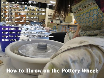 Art Education: How to Throw on the Pottery Wheel Video