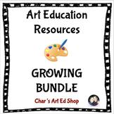 Art Education Resources - Growing Bundle