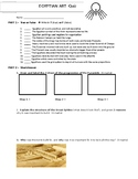 Art - Egyptian Art History - Quiz for high school