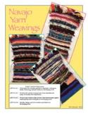 Art - Elementary/Middle School Navajo Yarn Weavings