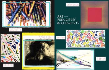 Art Elements +  Art Principles ~ FREE POSTER