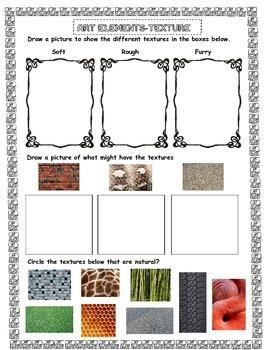 Art Elements Assessment - Texture