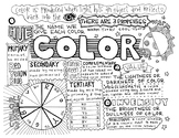 Art Elements | Color | Coloring Pages & Notes