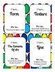 "Art Elements Game, Printable Cards for ""I Have... Who Has?"" Small Group Activity"