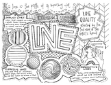Art Elements   Line   Coloring Page & Notes