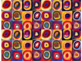Art Lesson: Wassily Kandisky making AMAZING patterns from