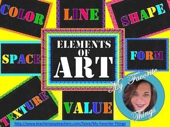Art Elements Poster