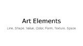 Art Elements Power Point