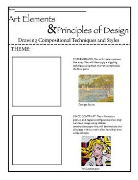 Art Elements & Principles of Design 3D Mobile