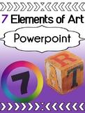Art - Elements of Art - Powerpoint