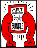 Art Enrichment Everyday BUNDLE Activity Coloring Pages