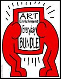 Art Enrichment Everyday BUNDLE Activity Coloring Pages