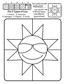 Art Enrichment Everyday SUMMER Activity Coloring Pages