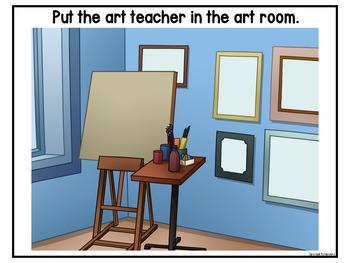 Art Errorless Activities and Worksheets