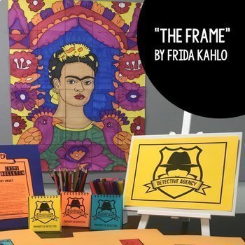 Art Escape Room Grammar Challenges BUNDLE - Project Based Learning (PBL)