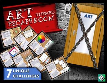 Art Escape Room: Elements of Art!