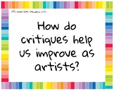 Art Essential Questions