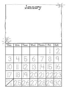 Art Every Month Using the Calendar