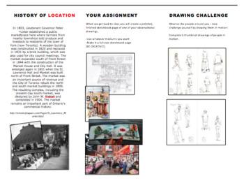 Art - Field Trip -  Generic Info Pamphlet - Sketching trip