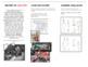 Art - High school field trip -  Generic Info Pamphlet - Sketching trip