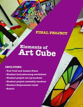 Art Final Project: Elements of Art Cube