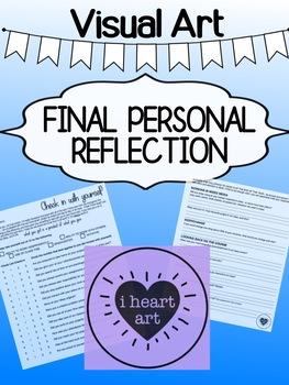 Art - Final Reflection for high school