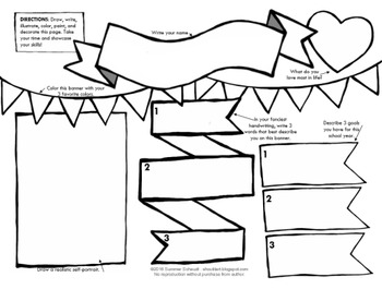 Art First Day Activity Sheet - Intermediate (Middle School)