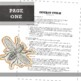 Art First Day of School Documents: Visual Art Syllabus Template