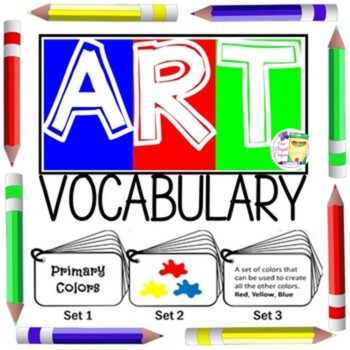 Art Vocabulary - Flip Book