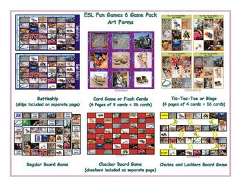 Art Forms 6 Board Game Bundle