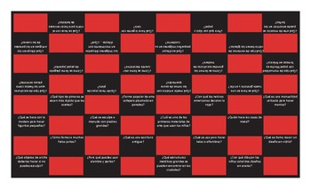 Art Forms Spanish Checker Board Game